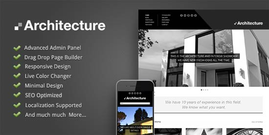 Modernist - Architecture & Engineer WordPress Theme