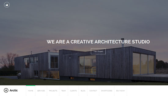 Architecture & Creatives WordPress Theme