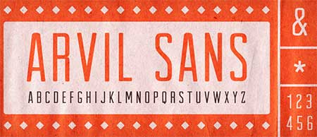 Arvil-free-Photography-fonts