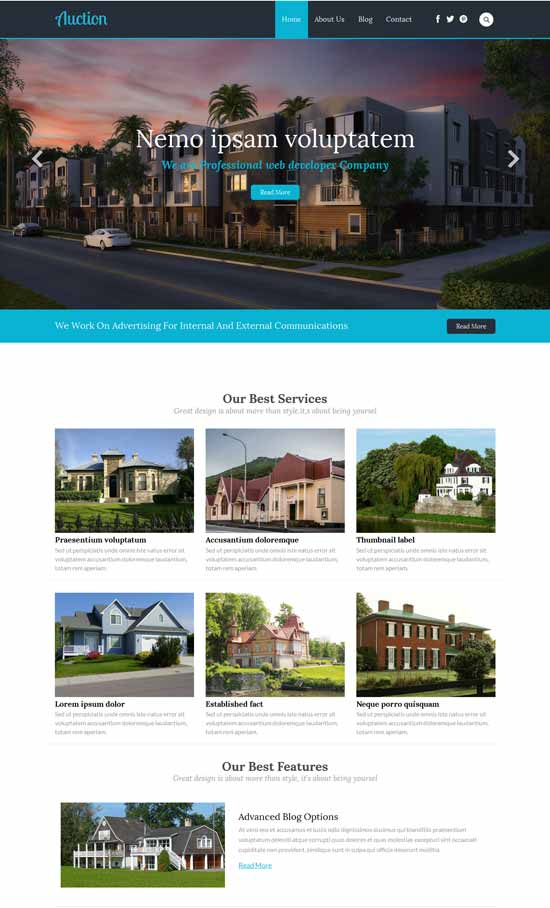 Auction-Free-Real-Estate-Responsive-Web-Template