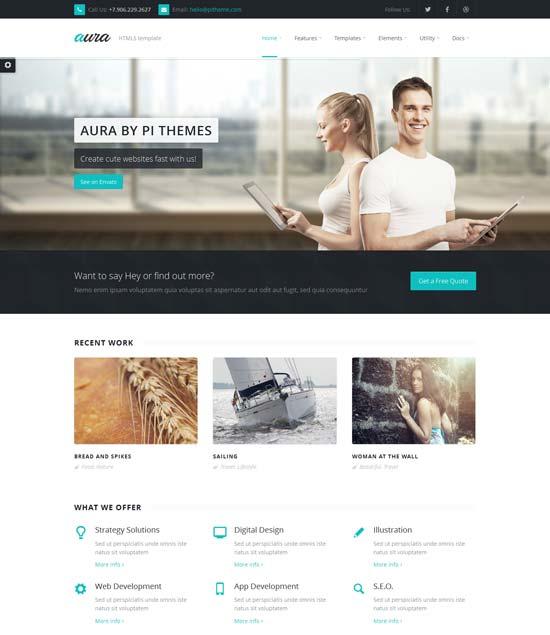 Aura-Best-Website-Template-May-2014
