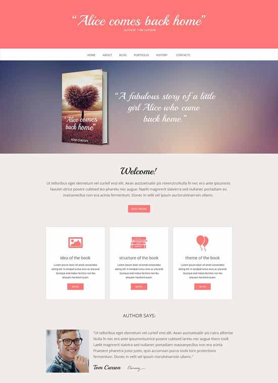 Author-Book-Reviews-Responsive-Website-Template