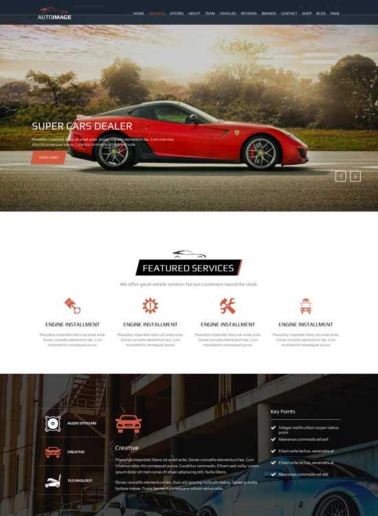 Auto-Image-HTML-for-Car-Dealer-Website
