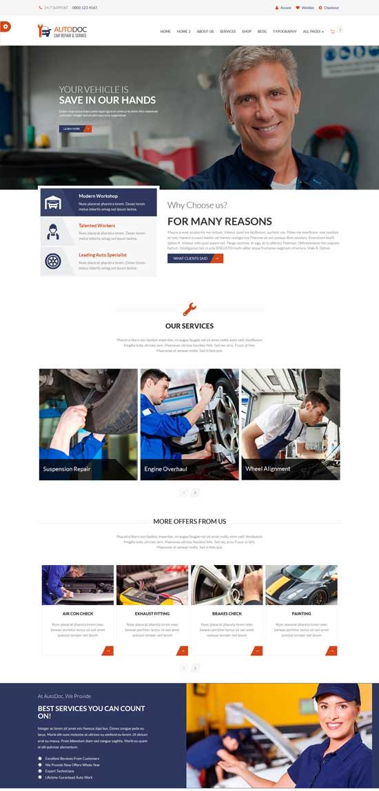 AutoDocHTML-Car-Repair-Mechanic-Shop
