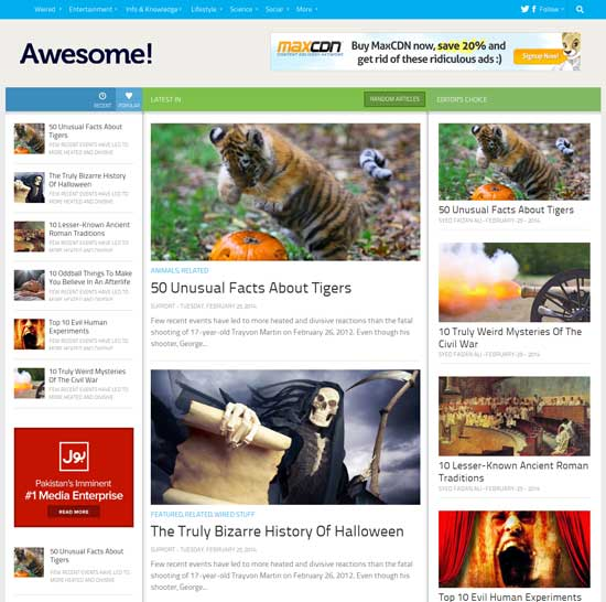 Awesome-Mag-Blogger-Template