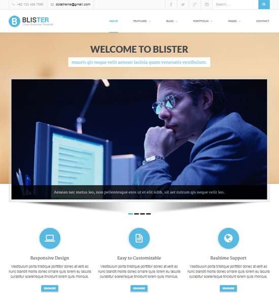 BLISTER-Clean-Business-Site-Template