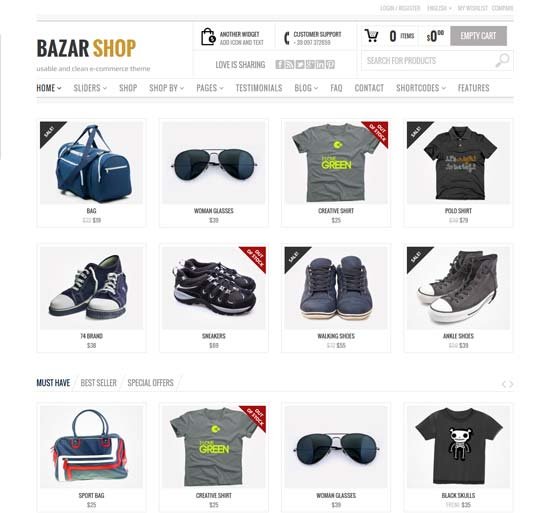 Bazar Shop - WooCommerce Theme