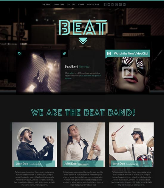 Beat-One-Page-HTML5-Music-Band-Template