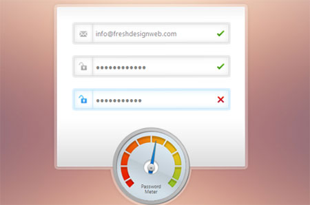 Beautiful Password Strength Meter Tutorial