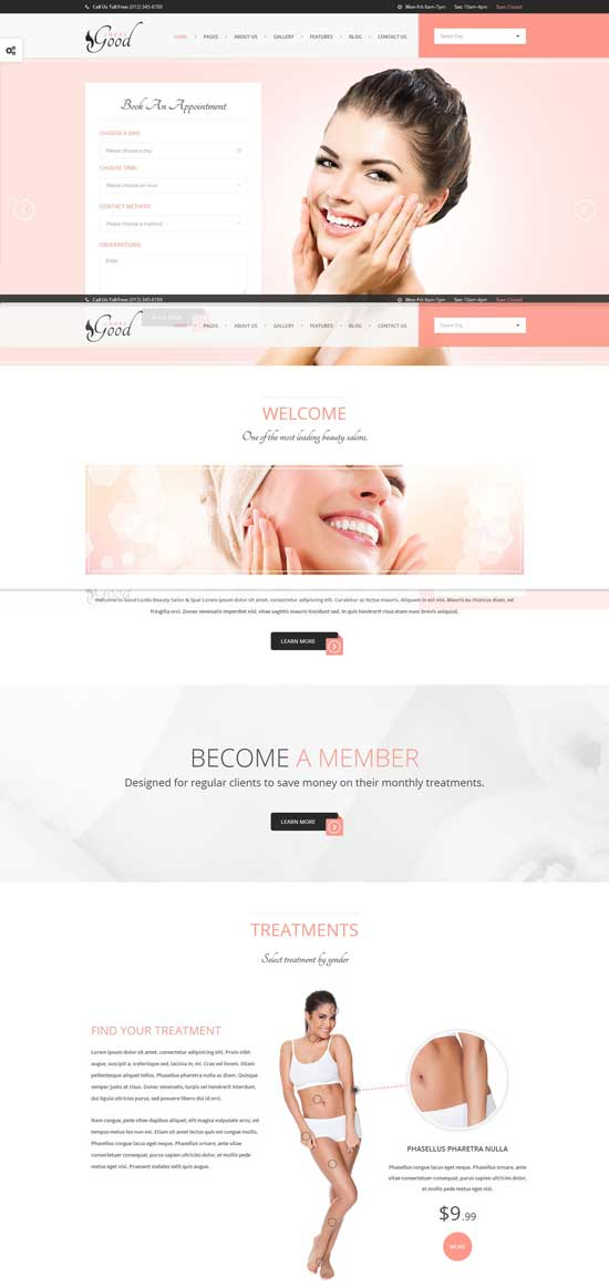 Beauty-Salon-Template