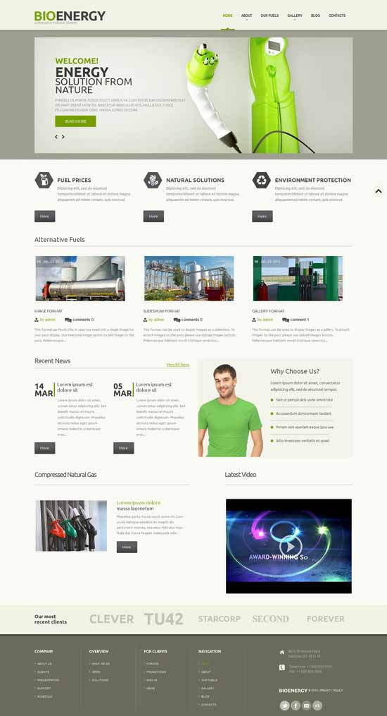 Biofuel-Responsive-WordPress-Theme