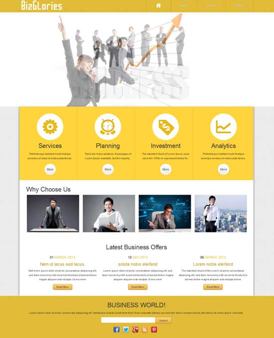 Biz-Glories-Free-Business-website-template