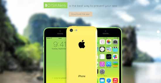 Boishakhi-Responsive-mobile-landing-page