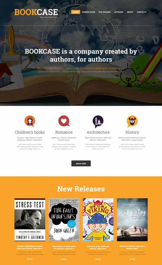 Book-Publishing-Company-Responsive-Website-Template