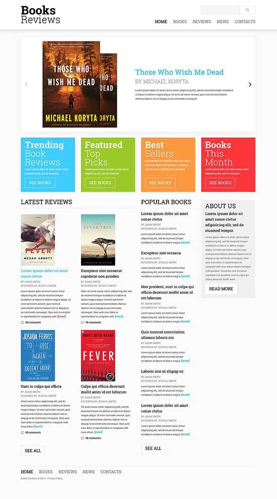 Book-Reviews-Responsive-Website-Template-51873