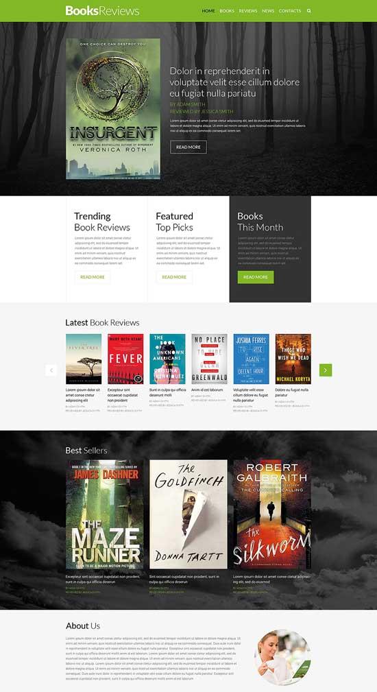 Book-Reviews-Responsive-Website-Template