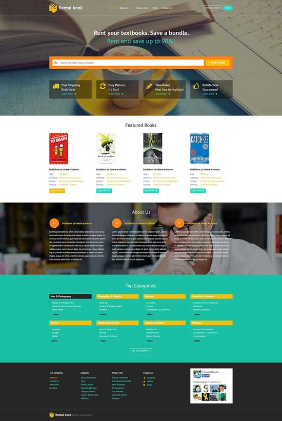 Books-Responsive-Website-Template