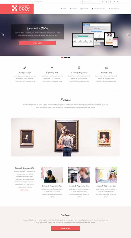 brix wordpress studios theme