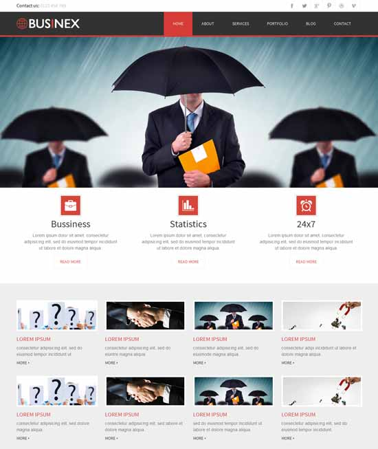 Businex-Free-Consulting-website-Template