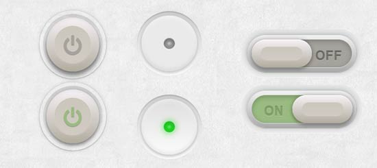 css3 Button Switches
