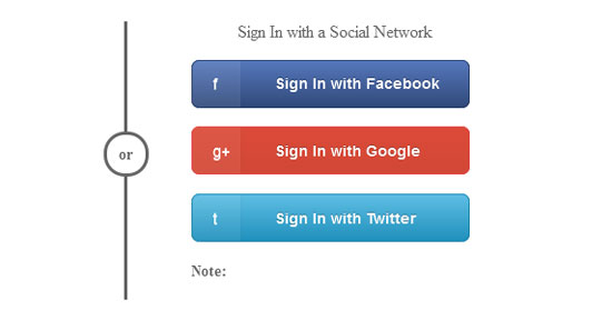 Button-with-a-Social-Network