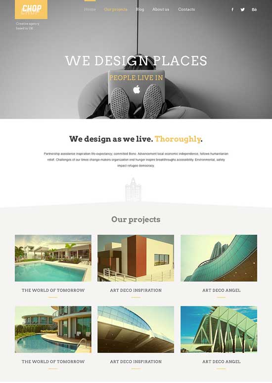 CHOP-Architecture-Responsive-WordPress-Theme