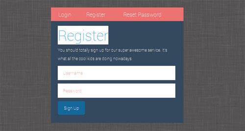 CSS-Login-Register-Form
