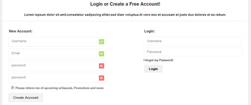 CSS-Login-and-Registration-Template