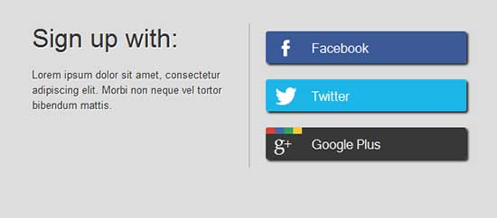 CSS-Social-sign-up-form