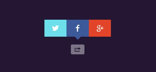 CSS-social-share-button