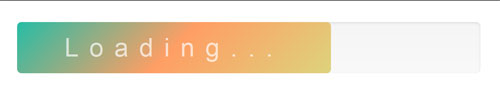 CSS3-Loading-Bar-with-Text