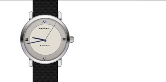 CSS3 Wristwatch