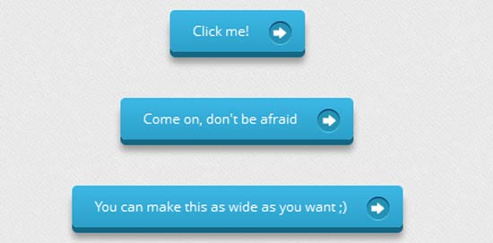 CSS3 Buttons with Pseudo-elements