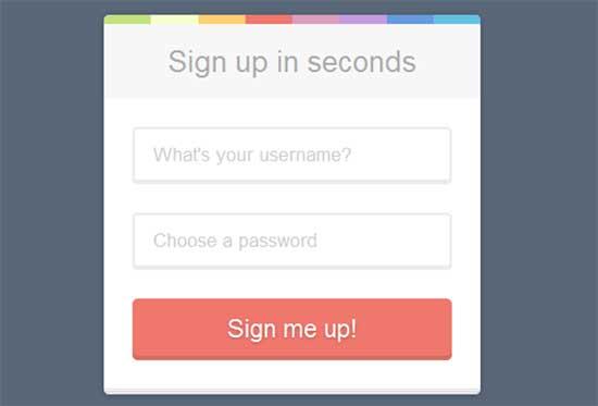 CSSFlow-Sign-Up-form