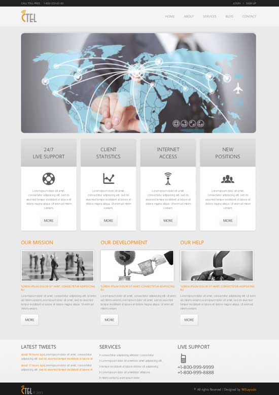 CTEL-Free-Corporate-Business-web-Templates