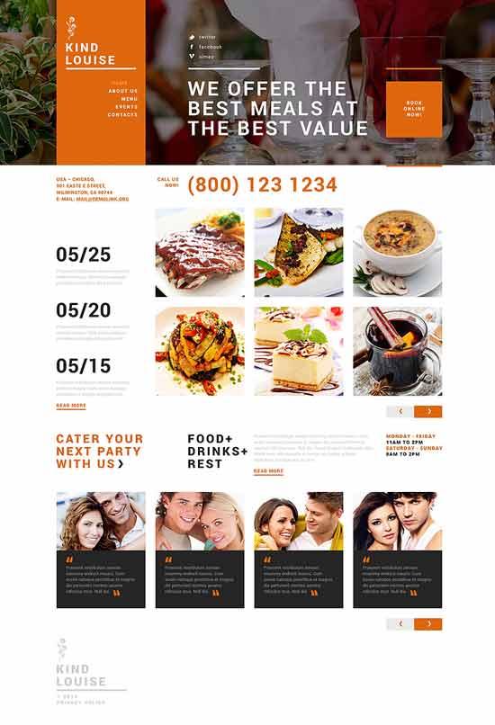 Cafe-House-Joomla-Template