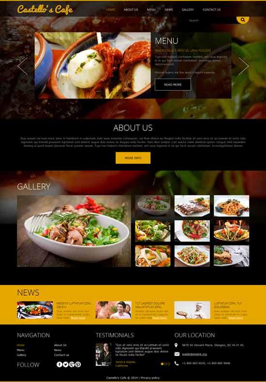 Cafe-Restaurant-Joomla-Template