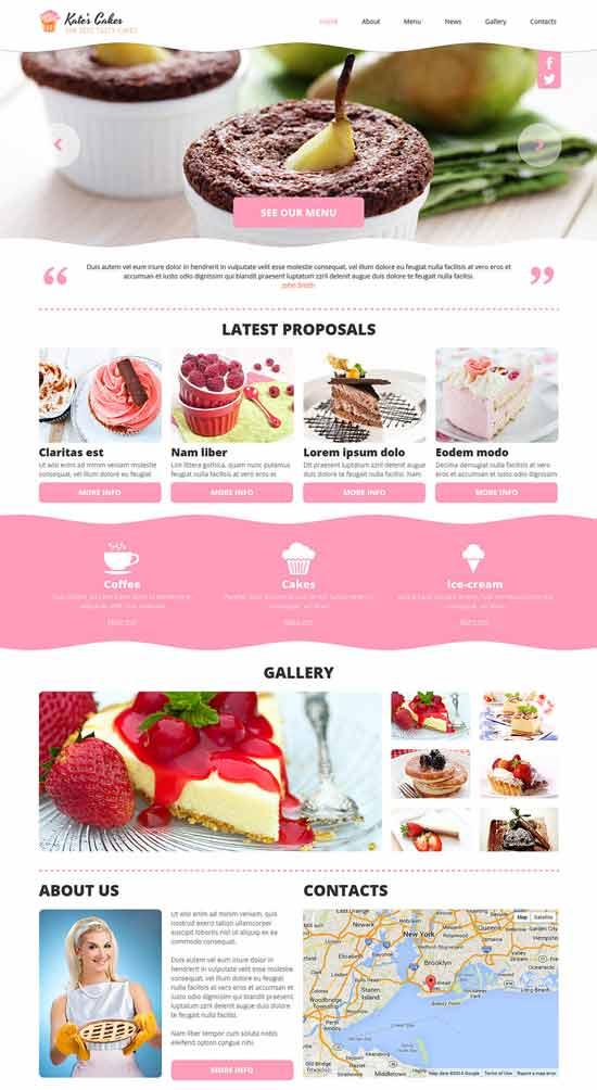 Cakes-Responsive-Joomla-Template