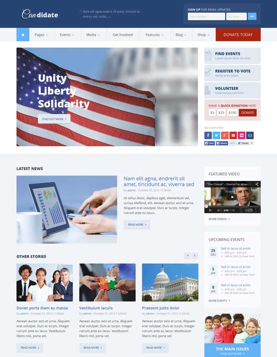 Candidate-Political-Nonprofit-HTML-Template