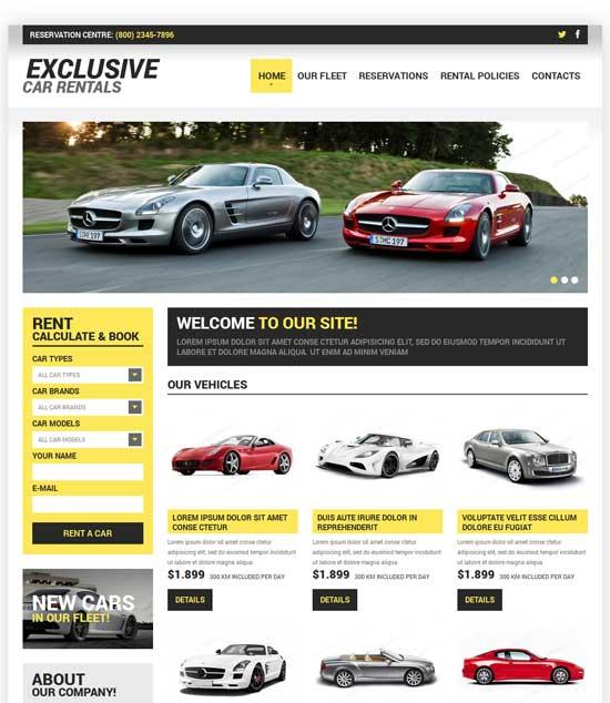 Car-Rental-Responsive-Website-Template