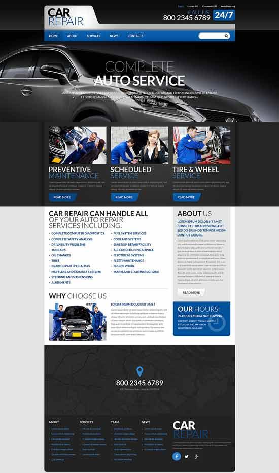 Cars-Repair-WordPress-Theme