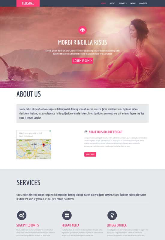 Celestial-Free-Flat-Bootstrap-Responsive-template