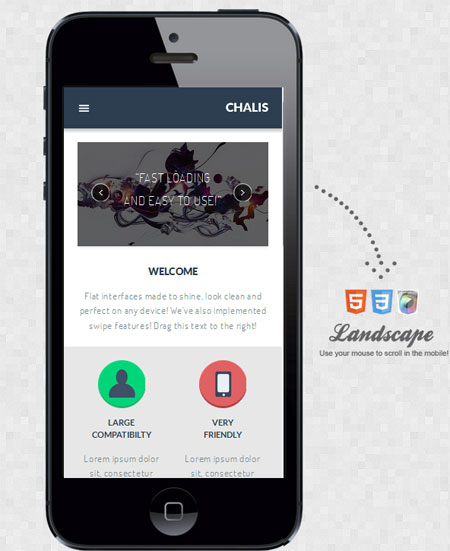Chalis-Mobile-Retina-WordPress-Version