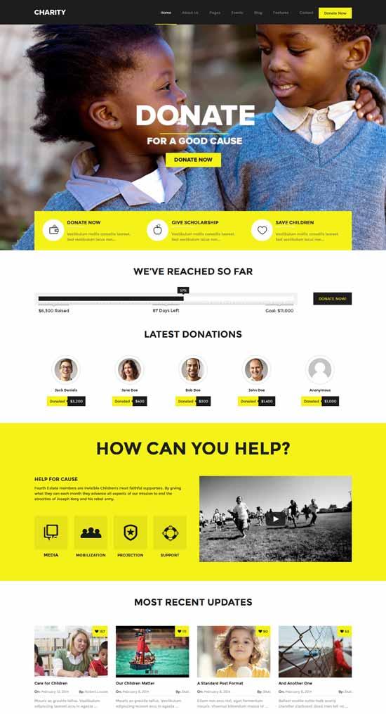 Charity-Foundation-Fundraising-WordPress-Theme