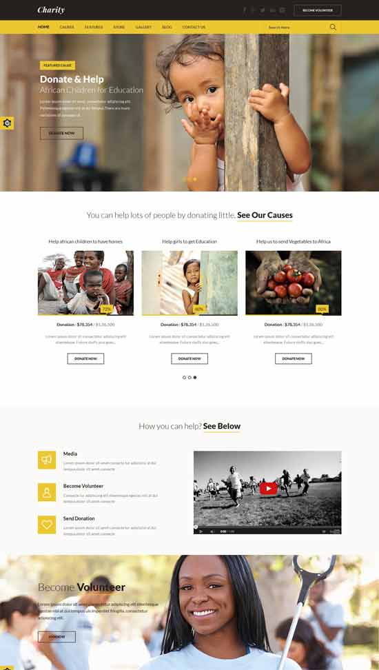 Charity-Nonprofit-Fundraising-HTML-Template
