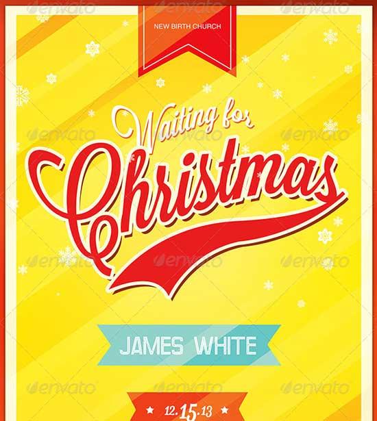 Church Christmas Flyer Templates