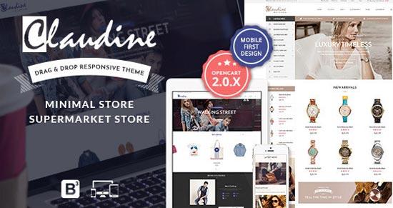 Claudine-Responsive-OpenCart-Theme