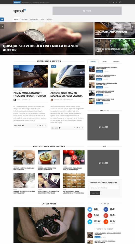 Clean-Blog-News-Magazine-Responsive-Theme