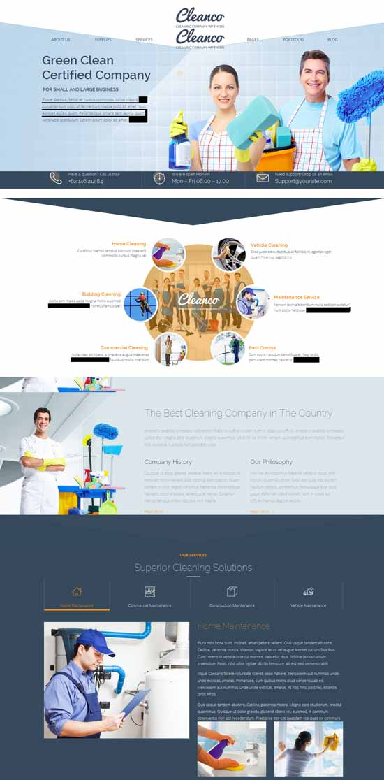 Cleaning-Company-WordPress-Theme