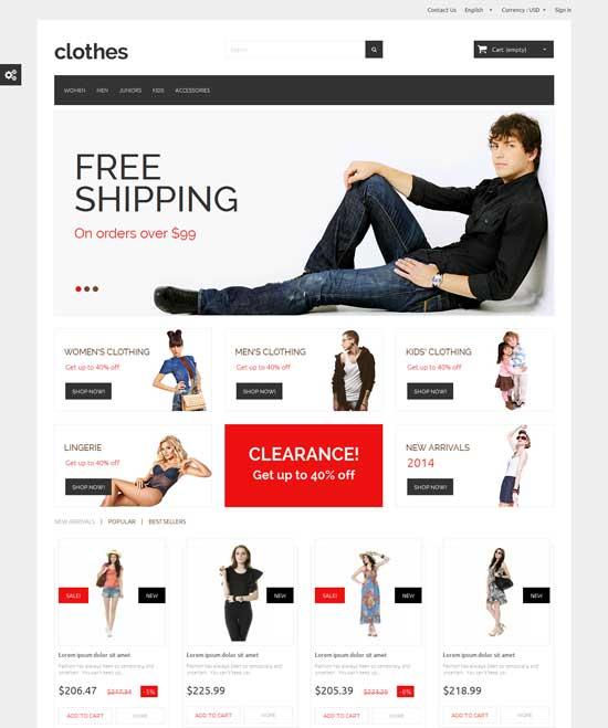 Clothes-Free-Responsive-PrestaShop-1.6-Template